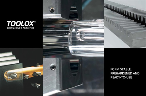 TOOLOX IS PREHARDENED ENGINEERING AND TOOL STEEL