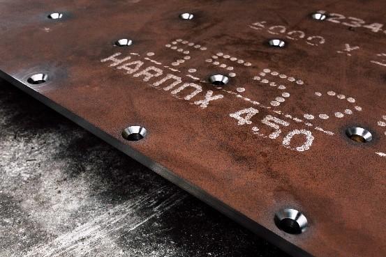 Hardox 450//brinar 450 Steel Plates 600x600x10-burned and deburred